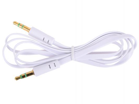 Кабель соединительный 1.0м Belsis 3.5 Jack - 3.5 Jack белый BL1024
