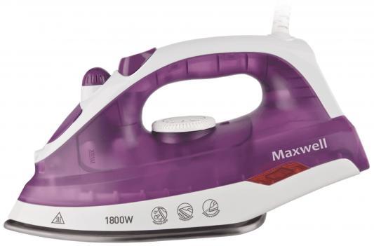 Утюг Maxwell MW-3042(VT) 1800Вт белый сиреневый стоимость