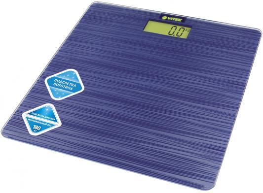 Весы напольные Vitek VT-8062 B синий весы vitek vt 1961 b