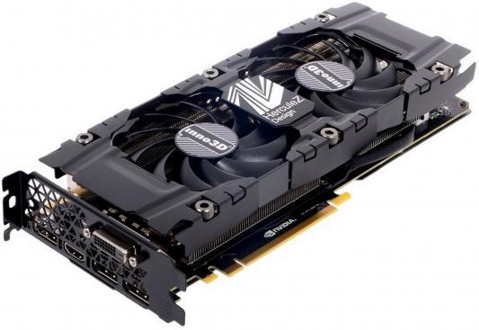 Видеокарта 8192Mb Inno3D GeForce GTX 1070 Twin X2 PCI-E 256bit GDDR5 DVI HDMI DP HDCP N1070-1SDV-P5DN Retail