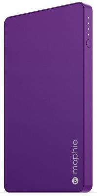 Портативное зарядное устройство Mophie PowerStation Mini 3000мАч фиолетовый 3647