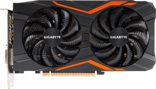 Видеокарта 2048Mb Gigabyte GeForce GTX1050 PCI-E 128bit GDDR5 DVI HDMI DP HDCP GV-N1050G1 GAMING-2GD Retail видеокарта 2048mb asus geforce gtx1050 pci e 128bit gddr5 dvi hdmi dp hdcp strix gtx1050 o2g gaming retail