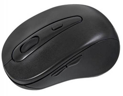 Мышь беспроводная Exegate SR-7021 чёрный USB + радиоканал