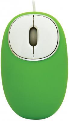 Мышь проводная Ritmix ROM-340 Antistress зелёный USB