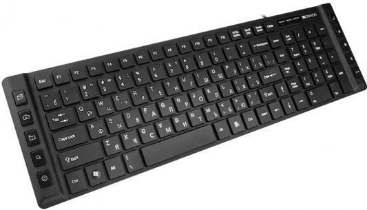 Клавиатура Canyon CNE-CKEY3 USB черный