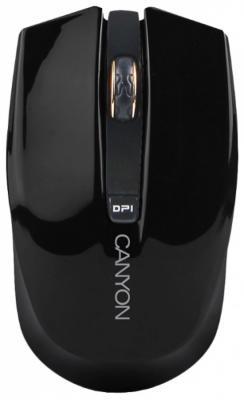 Мышь беспроводная Canyon CNS-CMSW5 чёрный USB + радиоканал