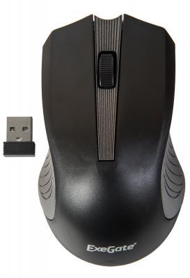Мышь беспроводная Exegate SR-9015BG чёрный USB