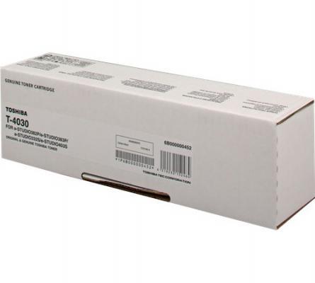Тонер-картридж Toshiba T-4030 для e-STUDIO382P/332S/403S черный 12000стр 6B000000452 russell peters prince george