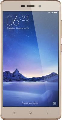 "Смартфон Xiaomi Redmi 3s золотистый 5"" 16 Гб LTE Wi-Fi GPS 3G"