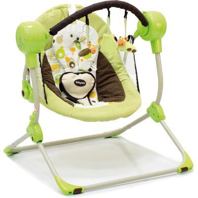Кресло-качели Baby Care Balancelle c Д/У (green)