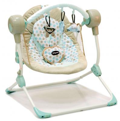 Кресло-качели Baby Care Balancelle c Д/У (cream)