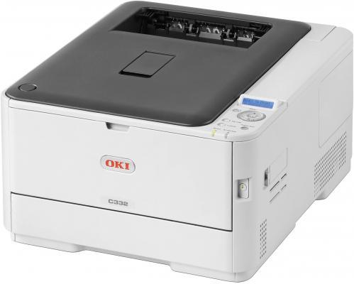 Принтер OKI C332dn цветной A4 22/20ppm 1200x600dpi 256Мб Ethernet USB принтер oki b412dn