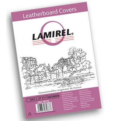 Фото - Обложка Fellowes Lamirel A4 зеленый 100шт LA-7877001 чистящие салфетки fellowes lamirel la 5144001 100 шт