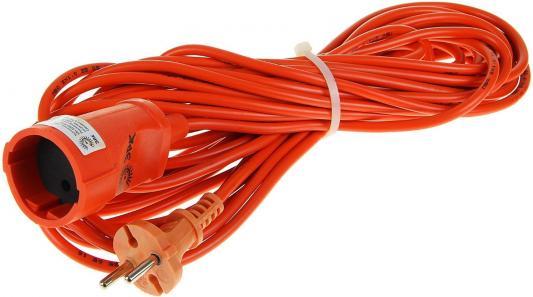 Удлинитель Эра UP-1-2x1.0-10m оранжевый 1 розетка 10 м