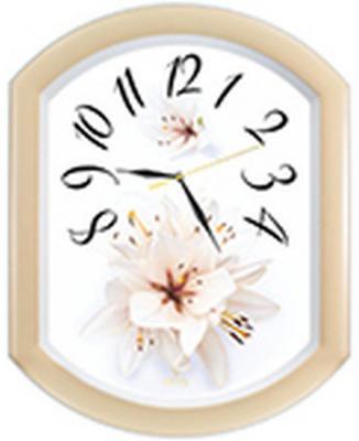 Часы настенные Вега П2-14/7-24 Лилия жёлтый