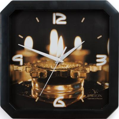 Часы Вега П4-6/6-59 чёрный кронштейн kromax vega 50 белый