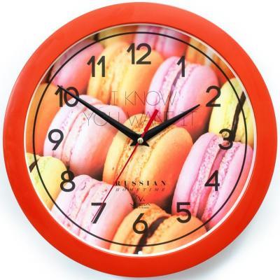 Часы настенные Вега П1-11/7-282 Десерт оранжевый
