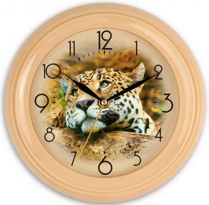 Часы Вега Барс бежевый
