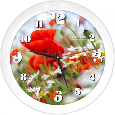 Часы настенные Вега Маки П1-7/7-187 белый
