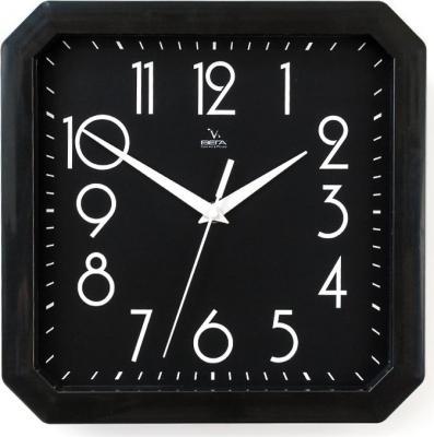 Часы настенные Вега П4-6/6-80 чёрный кронштейн kromax vega 50 белый
