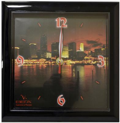 Часы настенные Вега П3-6-85 разноцветный рисунок кронштейн kromax vega 50 белый