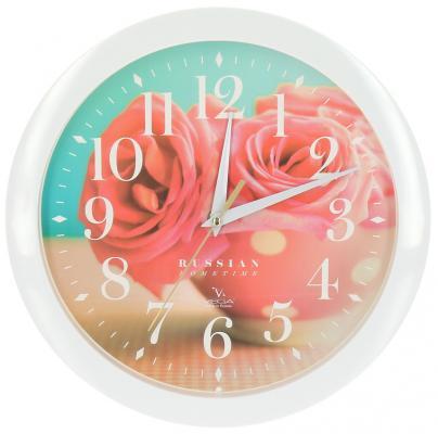 Часы Вега П 1-7/7-252 разноцветный 11 12 7