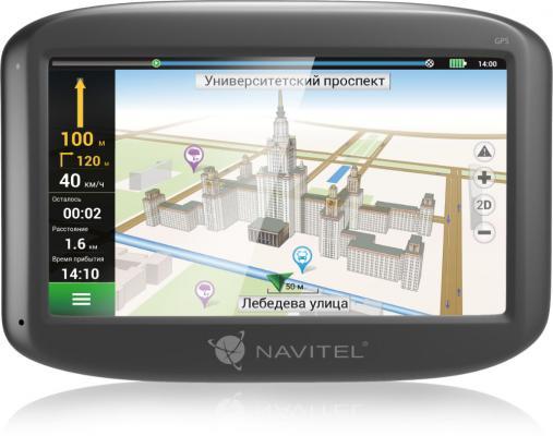 Навигатор Navitel N400 4.3 480x272 4GB 128MB microSD черный