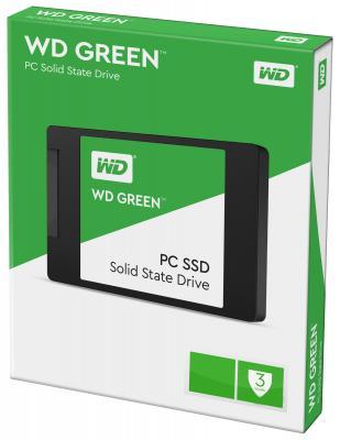 "SSD Твердотельный накопитель 2.5"" 120Gb Western Digital Green Read 540Mb/s Write 430Mb/s SATAIII WDS120G1G0A"