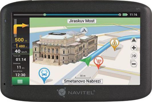 Навигатор Navitel E500 5 800x480 4GB microSD черный + Europe maps