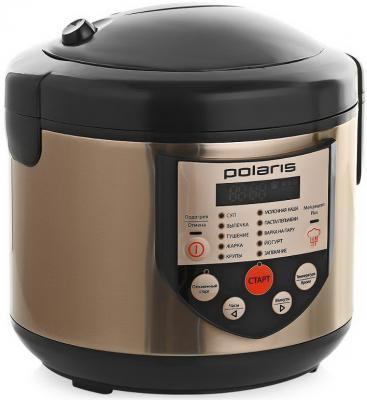 Мультиварка Polaris PMC 0351AD медный 600 Вт 3 л кофеварка polaris pcm 0210 450 вт черный