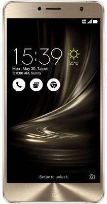 Смартфон ASUS ZenFone 3 Deluxe ZS550KL серебристый 5.5 64 Гб LTE Wi-Fi GPS 3G 90AZ01F4-M00100 смартфон asus zenfone 2 laser ze500kl белый 5 8 гб lte wi fi gps 3g 90az00e2 m01140
