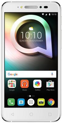 "Смартфон Alcatel Shine lite 5080x белый 5"" 16 Гб LTE Wi-Fi GPS 3G 5080X-2DALRU7"