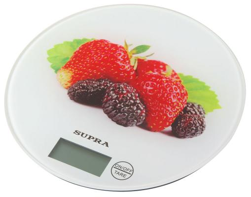 Весы кухонные Supra BSS-4601 белый рисунок 10956