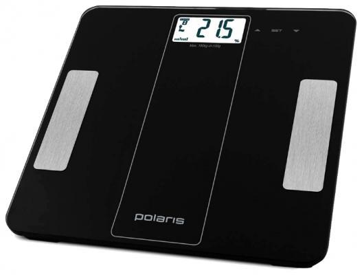 Весы напольные Polaris 1860DGF чёрный