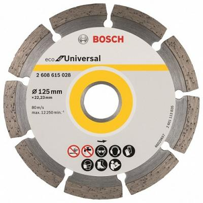 Алмазный диск Bosch ECO Universal универсальный 2608615028 алмазный диск универсальный bosch diy 125мм 2609256401