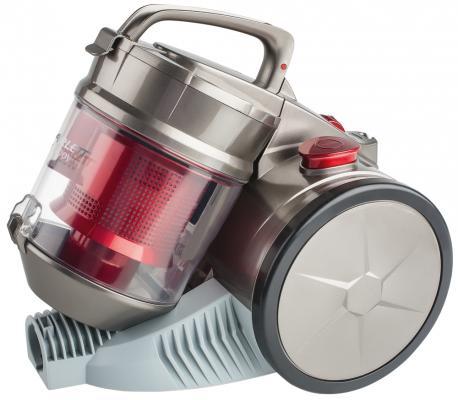 Пылесос Scarlett SC-VC80C04 сухая уборка серый красный пылесос scarlett sc vc80b04 1500вт серый красный