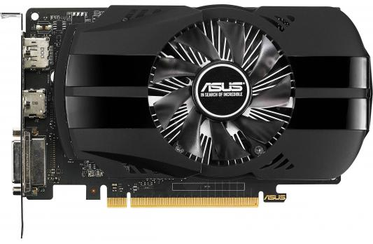 Видеокарта 4096Mb ASUS GeForce GTX1050 Ti Phoenix PCI-E 128bit GDDR5 DVI HDMI DP PH-GTX1050TI-4G Retail видеокарта 4096mb asus geforce gtx1050 ti pci e 128bit gddr5 dvi hdmi dp hdcp strix gtx1050ti 4g gaming retail