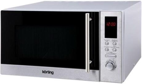 СВЧ Korting KMO 823 XN 800 Вт серебристый цена и фото