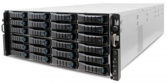 Серверный корпус 4U AIC HA401-LB 1200 Вт чёрный PSG-HA-4URLBDP0201
