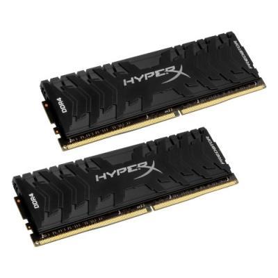 Оперативная память 16Gb (2x8Gb) PC4-26664 3333MHz DDR4 DIMM CL16 Kingston HX433C16PB3K2/16 оперативная память kingston kvr24r17s4 16