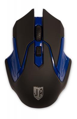 Мышь беспроводная Jet.A Comfort OM-U57G синий чёрный USB