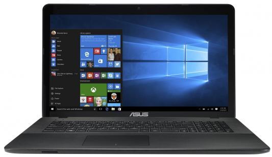 Ноутбук ASUS X751LX-T4161T 17.3 1920x1080 Intel Core i5-5200U 90NB08E1-M02580 ноутбук asus k751sj ty020d 90nb07s1 m00320