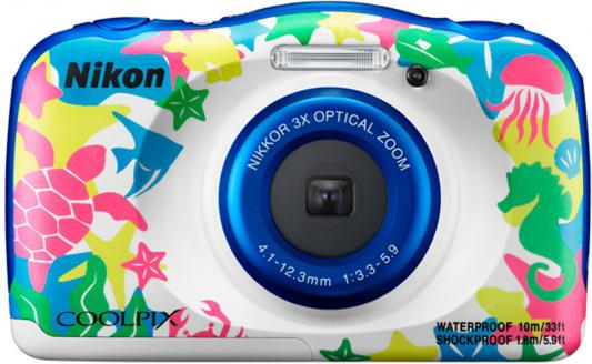 Фотоаппарат Nikon Coolpix W100 Marine Backpack 13.2Mp VQA014K001