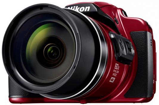 Фотоаппарат Nikon Coolpix B700 20.3Mp 60x Zoom красный купить цифровой фотоаппарат nikon coolpix