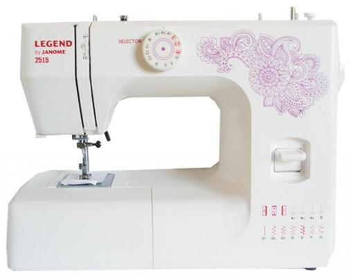 цена на Швейная машина Janome 2515 белый
