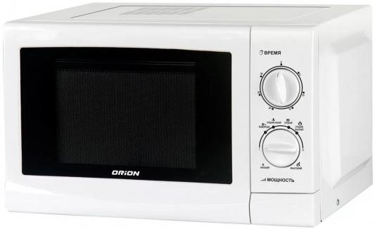 СВЧ Orion MWO-S1802MW 700 Вт белый цена и фото