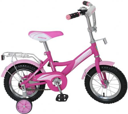 "Велосипед Navigator Basic KITE-тип 12"" розово-фиолетовый ВН12088"