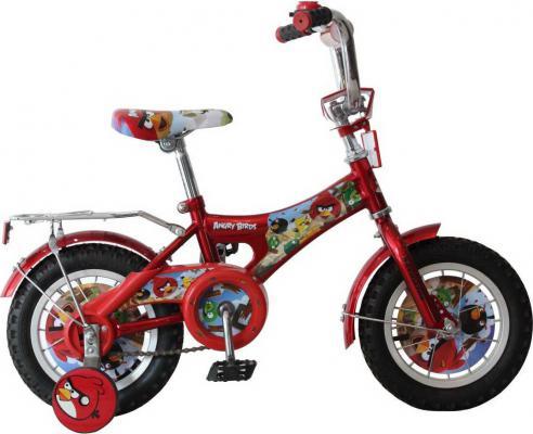 """Велосипед Навигатор Angry Birds AB-1-тип 12"""" красный ВН12066"""