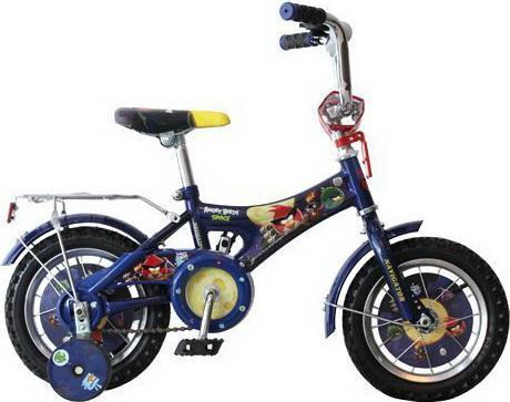 Велосипед Навигатор Angry Birds AB-1-тип 12 синий ВН12068 shock absorber boot rival ab st 5705 1