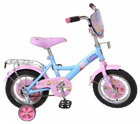 """Велосипед Навигатор Peppa Pig 12"""" розовый ВН12079"""